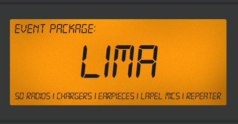 EVENT PACKAGE LIMA