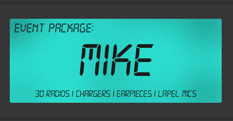EVENT PACKAGE MIKE